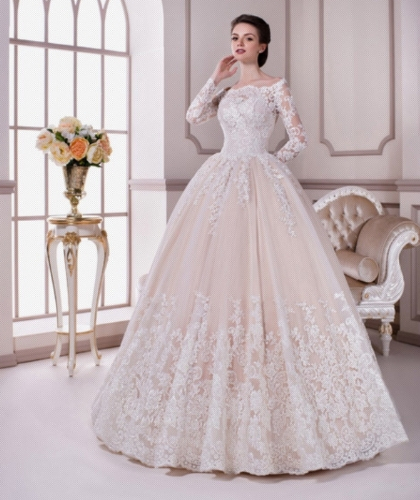 Buy Sell Wedding Dress Dubai Feya Bridal Karmelita 2016 Ball Gown Modest Size EU 44 Large