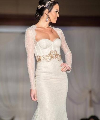 Buy Sell Wedding Dress Dubai 2015 Lazaro 3512 Trumpet Dress Size UK 10 Medium